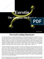 7. Investing in Tin Seminar - Eurotin