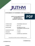 Final Examination_BFC 21303_29 Jan 2016