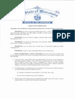 Wisconsin Exec. Order 2017-261