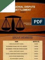Regional Dispute Settlement