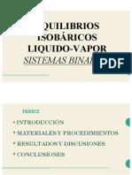 equilibrios isobaricos presentacion