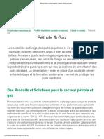 Pétrole & Gaz _ Lafarge Algérie - Ciment, Béton, Granulats