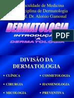 01 Introdução à Dermatologia 2010