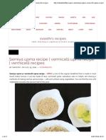Semiya Upma Recipe _ Vermicelli Upma Recipe _ Vermicelli Recipes