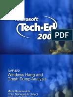 Windows Crash Dump Analysis