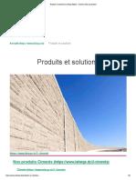 Produits Et Solutions _ Lafarge Algérie