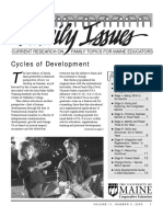 Family Issues-Cycles of Development