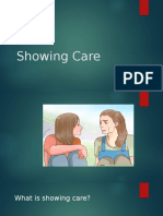 Showing Care