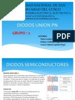 Diodo Union Pn