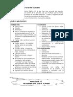 Anexo IV Criterios de Maltrato