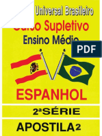 Espanhol 2ª Série - Apostila 02