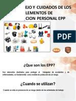 Usoymanejo de EPP