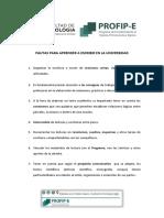 PAUTAS PARA APRENDER A ESCRIBIR EN  LA UNIVERSIDAD.pdf