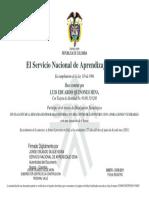 certificacion sena