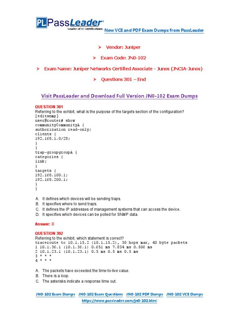 Passleader jn0 102 exam dumps 301 end duplex telecommunications passleader jn0 102 exam dumps 301 end duplex telecommunications computer networking fandeluxe Image collections