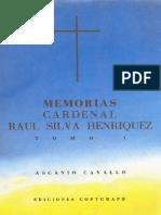MEMORIAS DE SILVA HENRÍQUEZ TOMO II