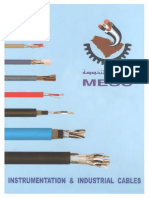 Cable Spec's From MESC