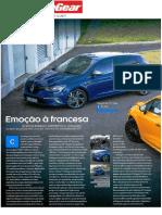 "RENAULT CLIO R.S. TROPHY FRENTE AO MÉGANE GT NA ""TOP GEAR"""