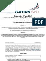 Revolution Wind (Deepwater Wind LLC) public bid