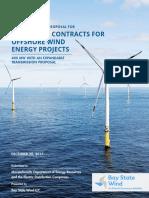 Bay State Wind 400 megawatt public bid