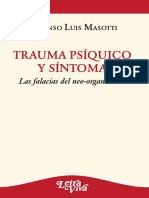 Trauma Psíquico y Síntoma - Alfonso Luis Masotti