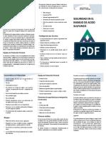Capacitacion en Normas y Procedimientos h2so4