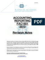Fac1601 Revision Notes - Chapter 1