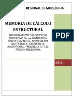 Memoria de Calculo-santa Rosa Rev2 Lev Observaciones