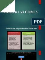 Cobit 4.1 y Cobit 5
