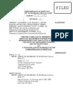 Mayberry v. KKR (KRS lawsuit)