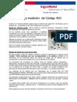 Equipos Para Medición de Código ISO