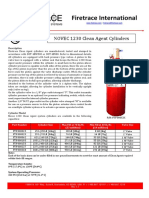 0001-9701-NOVEC 360 Clean Agent Cylinders
