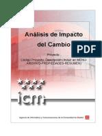 Control Cambio PROY IEI Impacto Del Cambio