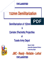 152mm Demilitarization