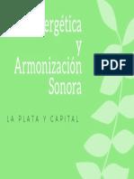 Bioenergética YArmonización Sonora