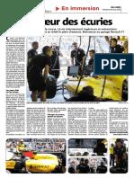 Au coeur des écuries du Grand Prix de Monaco