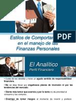 2. Presentacion Estilos de Comportamiento y Las Finanzas