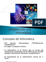 Introduccion a La Informatica