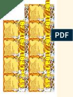 Tarjetas Personalizadas Para Imprimir Gratis - Feliz Cumpleaños - Correomagico