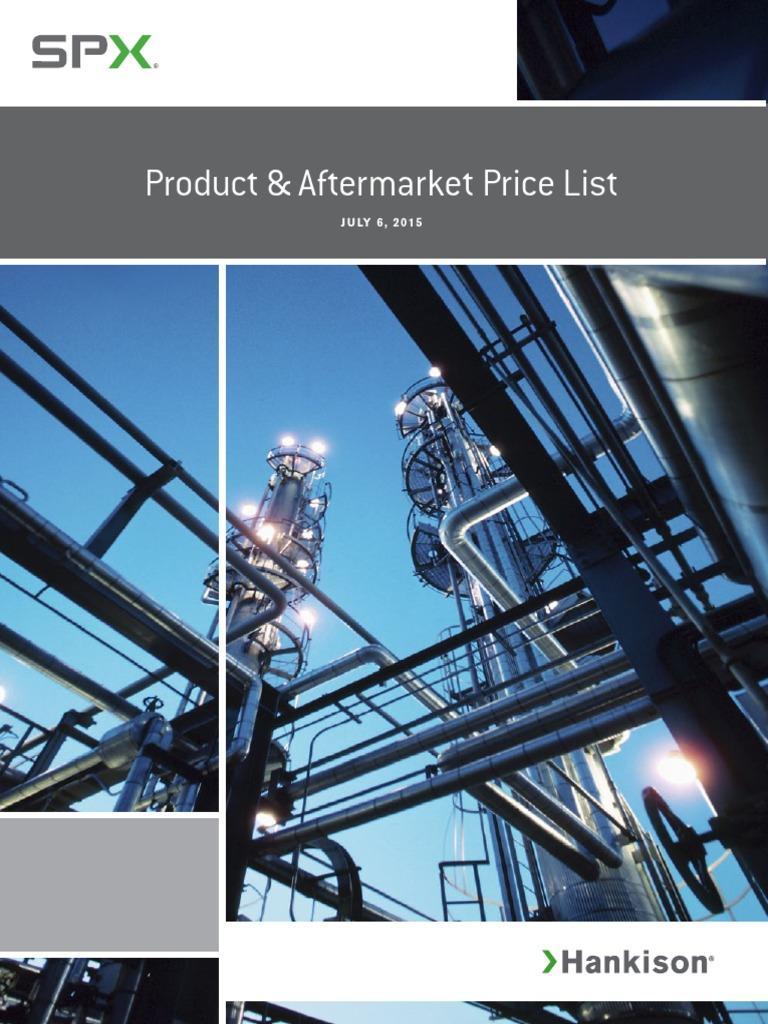 2015_Hankison Price List | Clothes Dryer | Cargo