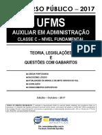 1 EA TLQ Lingua Portuguesa UFMS Classe C NF 2017 Demonstracao