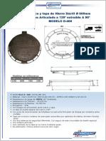 Marco y Tapa 600mm D400_FUMOSAC