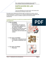 Tema 3 Clasificacic3b3n de Las Articulaciones