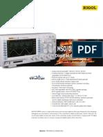 Mso Ds1000z Plus Datasheet