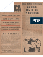1961-03-22 Política -Segunda Época- Nº 4