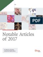 NEJM Notable Articles 2017
