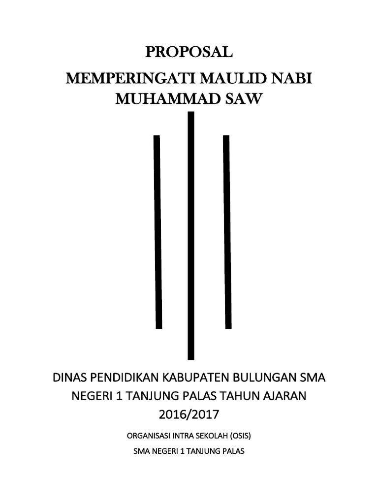 Proposal Maulid 2016