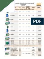 Lista Precios p. Interna Dps Obo Marzo 2013