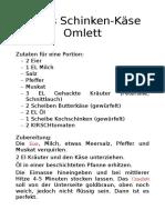 Leons Spezial Omlett Rezept