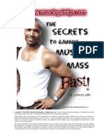 The Secrets to Gaining Muscle Mass -- Fast - Anthony Ellis- COMPLETE (WORKS).pdf